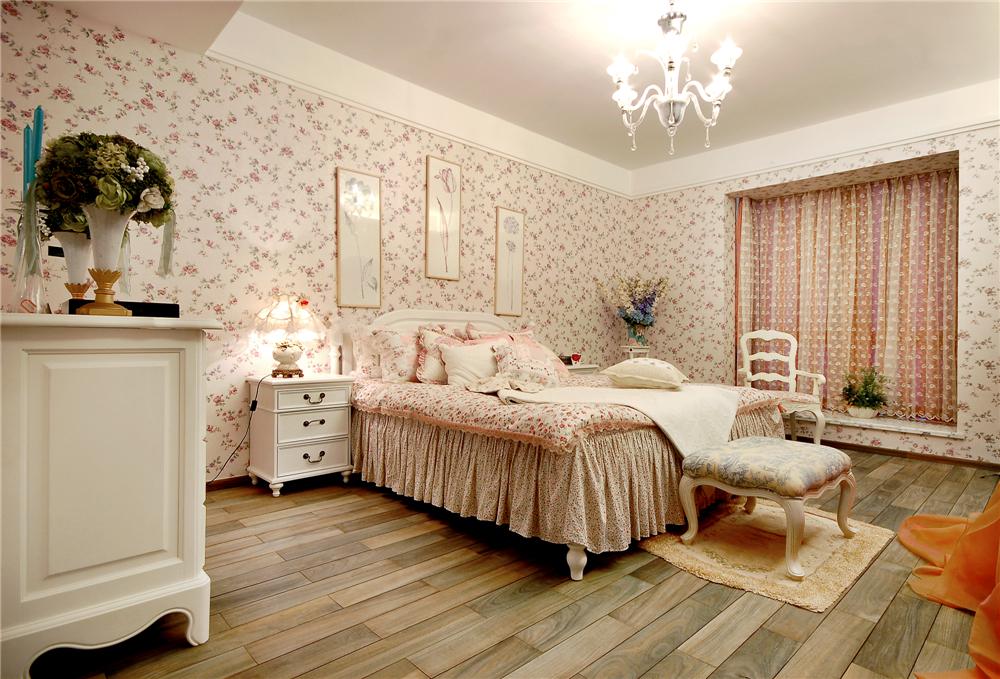 田园 二居 小资 80后 卧室图片来自实创家装助手在男人不喜欢的风格的分享
