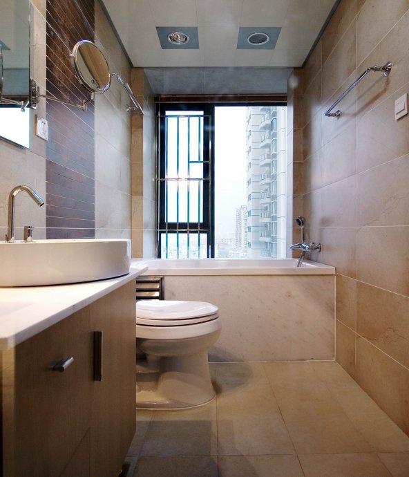 原始 阳光 三居 卫生间图片来自合建装饰李世超在美翻了的分享