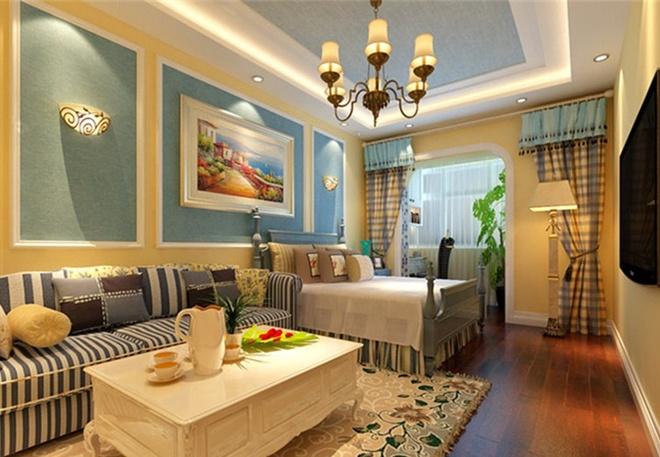 简约 欧式 田园 混搭 二居 白领 收纳 旧房改造 客厅图片来自上海倾雅装饰有限公司在秋水云庐的分享