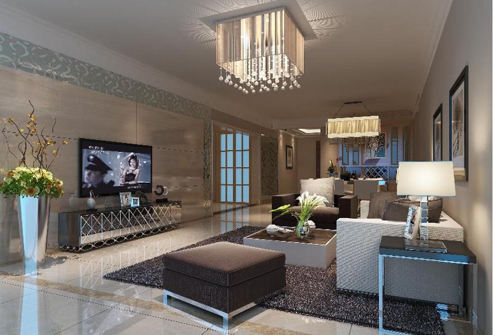 客厅图片来自深圳市浩天装饰在清新的分享