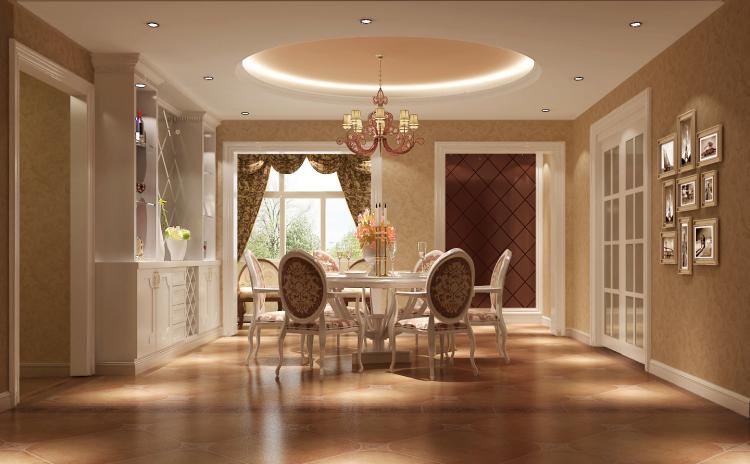 简约 欧式 五局室 白领 80后 餐厅图片来自沙漠雪雨在金色漫香苑190㎡简欧公寓的分享