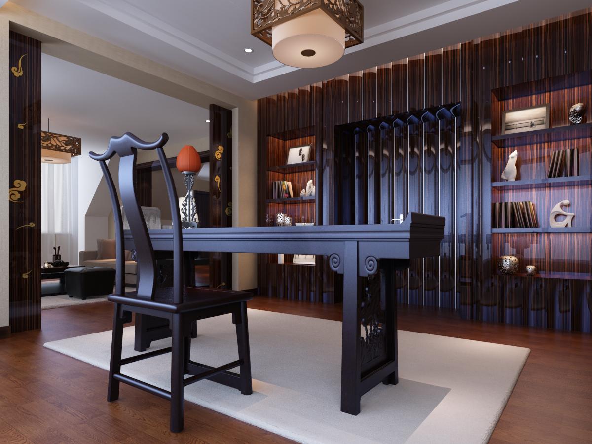新中式 别墅装修 别墅设计 尚层装饰 其他图片来自尚层别墅装饰在打破了中式风格传统色彩的分享