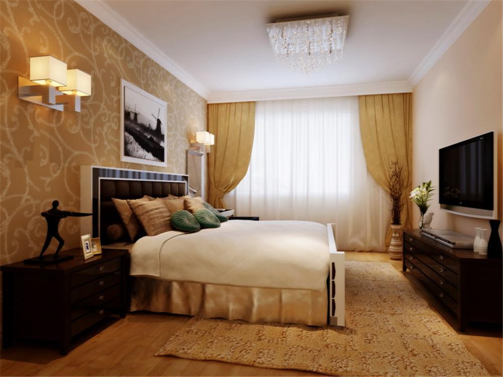 简约 二居 收纳 小资 80后 卧室图片来自实创装饰完美家装在后现代简约风格案例赏析的分享