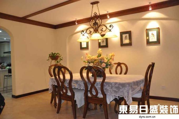 东易日盛 武汉装修 家居装饰 万科花园 王斌 餐厅图片来自武汉东易日盛在万科城市花园--王斌的分享