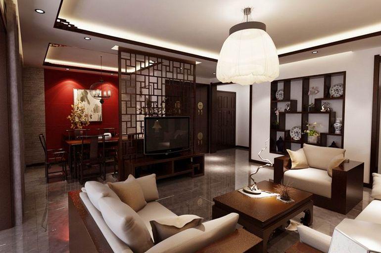 新中式 沉稳 大气 精致 客厅图片来自石家庄今朝生态家居馆在天山熙湖的分享