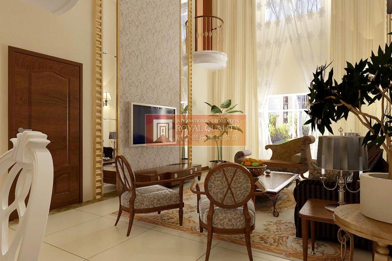 欧式 别墅 优山美地 旧房改造 客厅装修 客厅图片来自赵丹在优山美地的分享