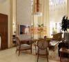 恢弘气势的客厅设计,超高饿挑空,白色的窗帘,大大的落地窗,无不让整个空间看上去宽敞明亮,线条柔和,优雅的沙发,没有过于复杂的装饰,是整个空间笼罩在一种悠闲、惬意之中。