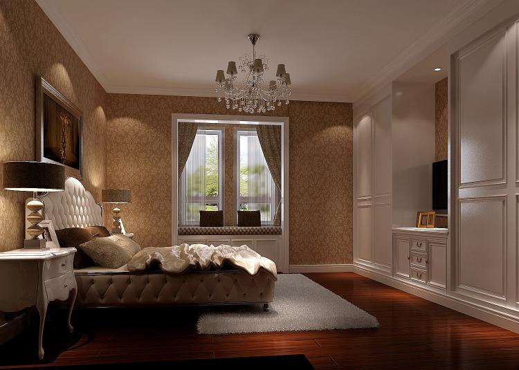 简约 欧式 顶层带阁楼 白领 80后 小资 卧室图片来自沙漠雪雨在绿醍香廊180㎡简欧公寓的分享