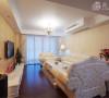 汇智湖畔三居室户型新欧式风格装修设计方案展示