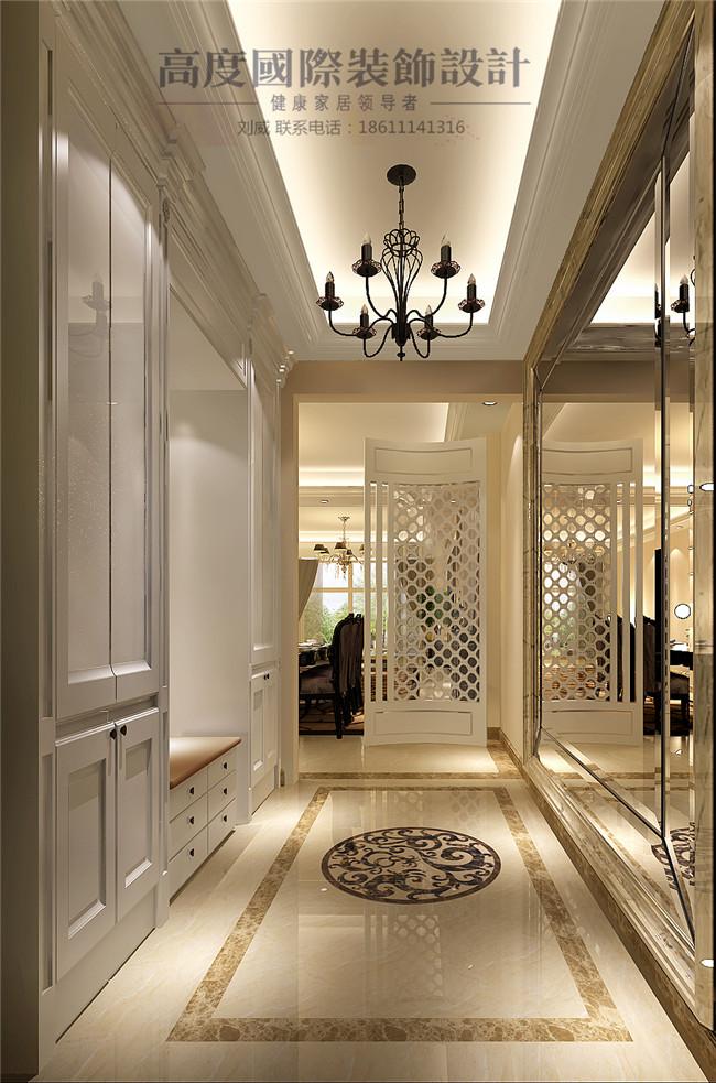 三居 简约 欧式 田园 混搭 其他图片来自高度国际装饰设计刘威在御翠尚府三居简欧风格的分享