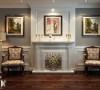 壁炉装饰-简欧更为清新、居室不只是豪华大气,更多的是惬意和浪漫,也更符合本客户青春靓丽的审美观念。