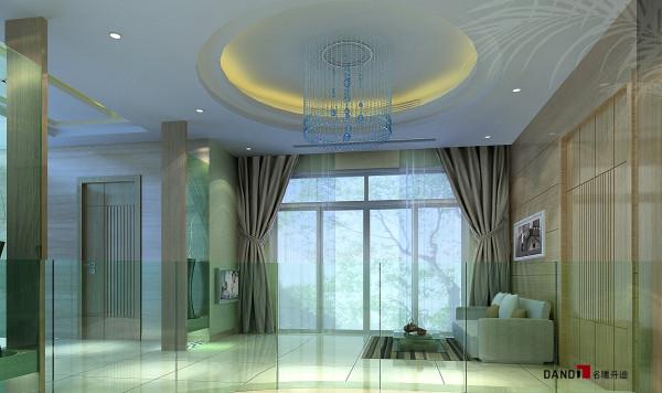 名雕丹迪设计--江南别墅--现代奢华--过厅