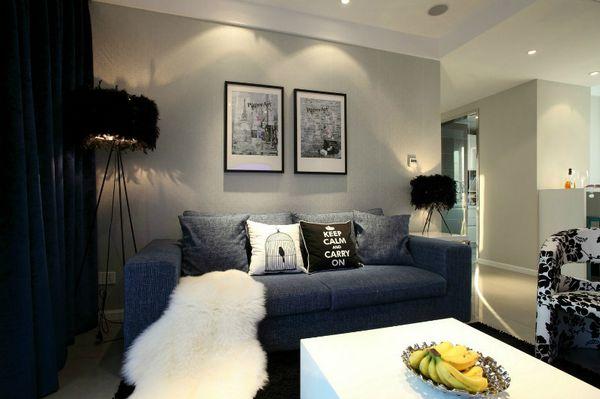 客厅图片来自聚星堂装饰在首创万卷山的分享