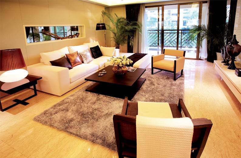 客厅图片来自石家庄品界国际装饰在石家庄国仕山112平米现代的分享