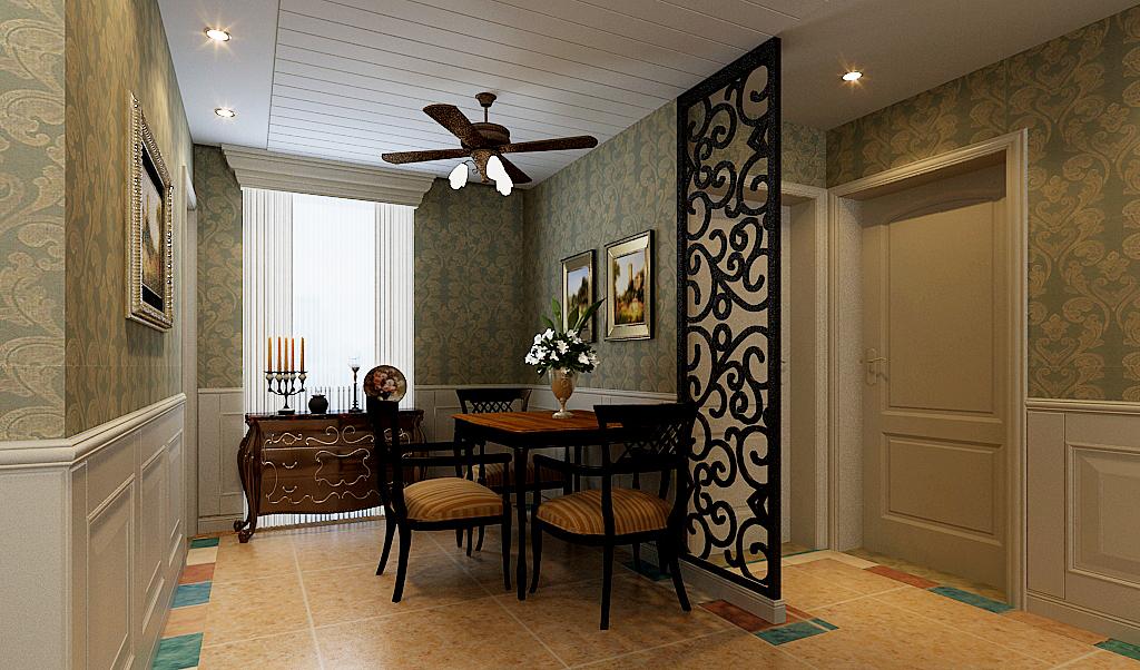三居 餐厅图片来自石家庄品界国际装饰在国仕山157平米托斯卡纳风的分享