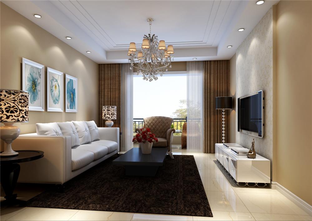 简约 三居 收纳 白领 小资 客厅图片来自实创装饰完美家装在宁静高贵极致打造简约不简单的分享