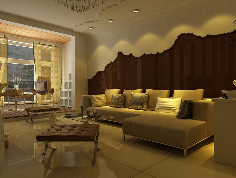 海淀名著 今朝装饰 现代简约 简约装修风 三居 旧房改造 客厅图片来自北京今朝装饰在大苑海淀名著--创意现代风格的分享
