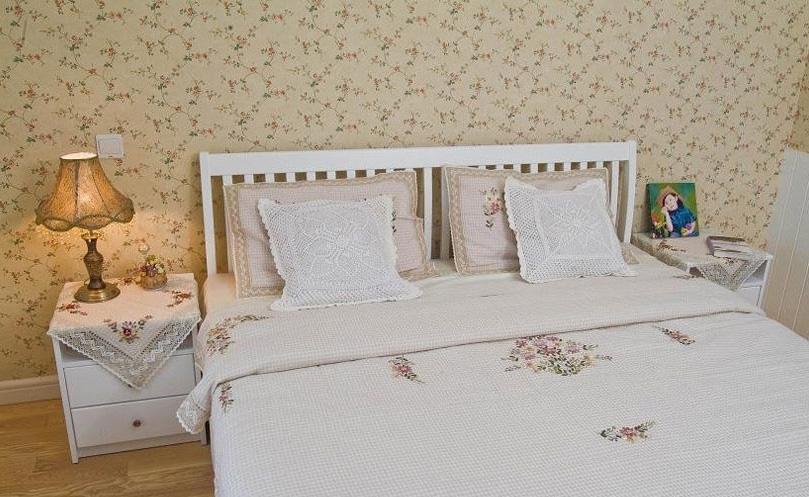 田园 三居 新房装修 今朝装饰 翠林漫步 卧室图片来自北京今朝装饰在翠林漫步--田园风的分享