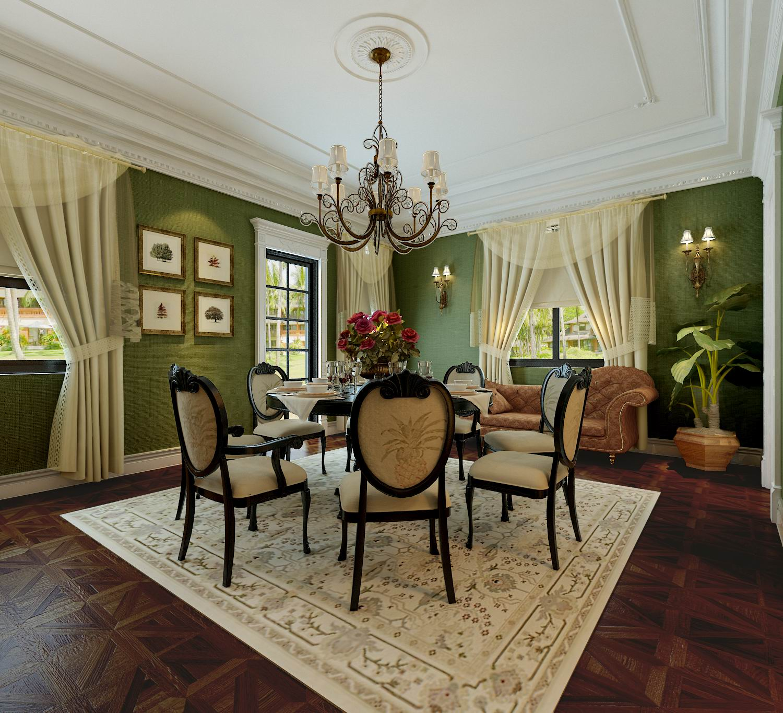 别墅 餐厅图片来自石家庄品界国际装饰在北京麦卡伦地560平米独栋别墅的分享