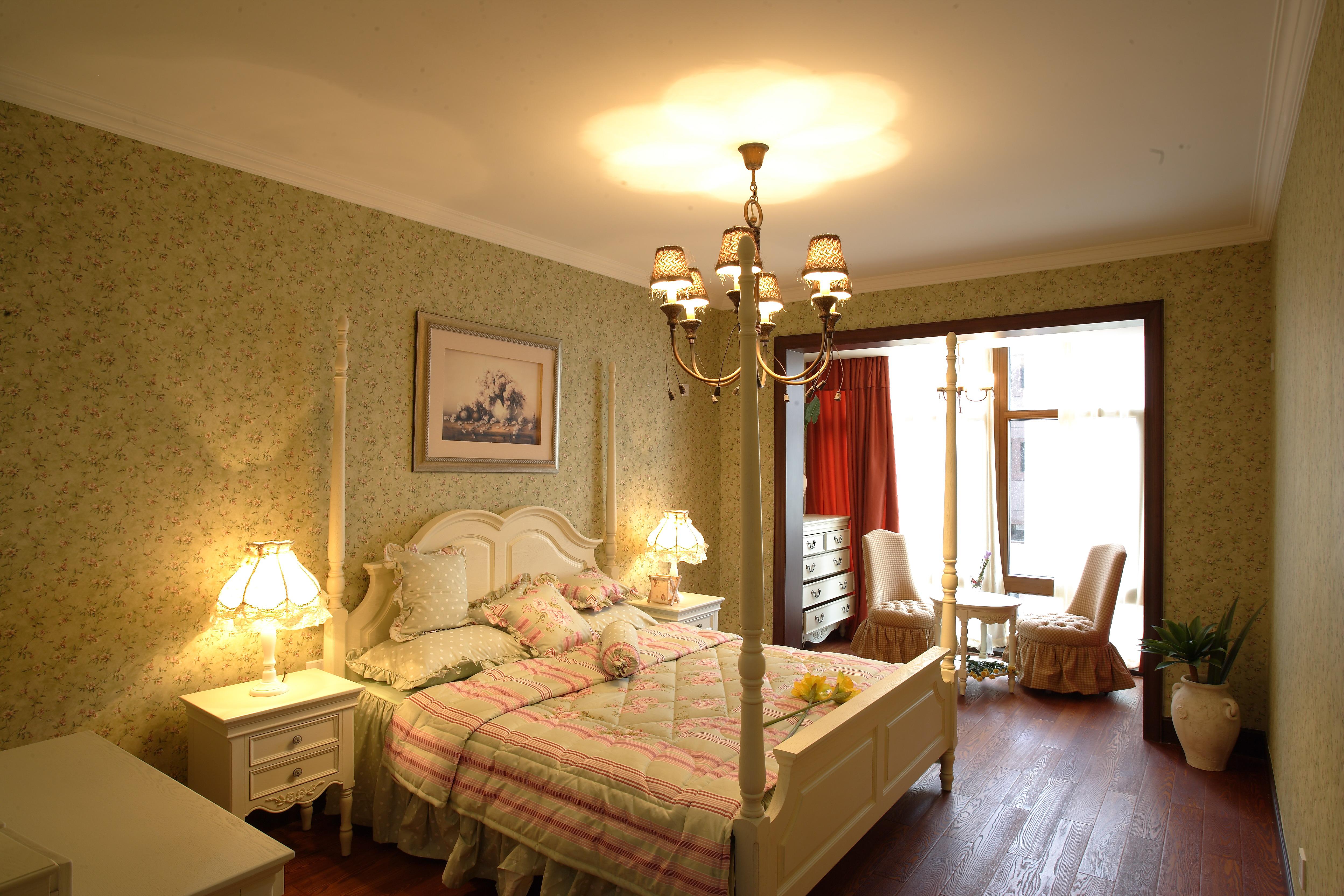 博大路 田园风格 老房改造 二居 收纳 80后 卧室图片来自北京今朝装饰在110平米 博大路唯美田园风的分享
