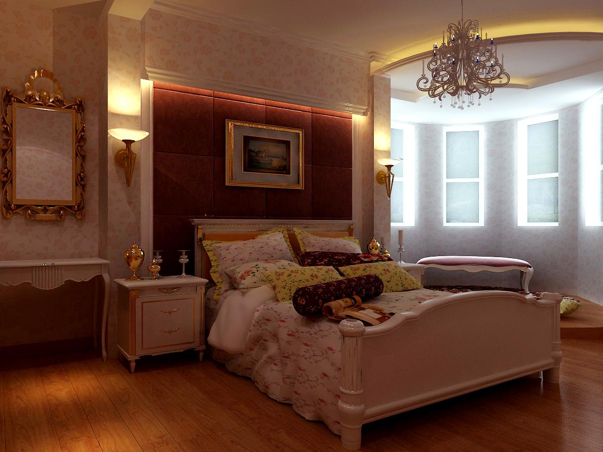 卧室图片来自石家庄品界国际装饰在香榭260平米简欧风的分享