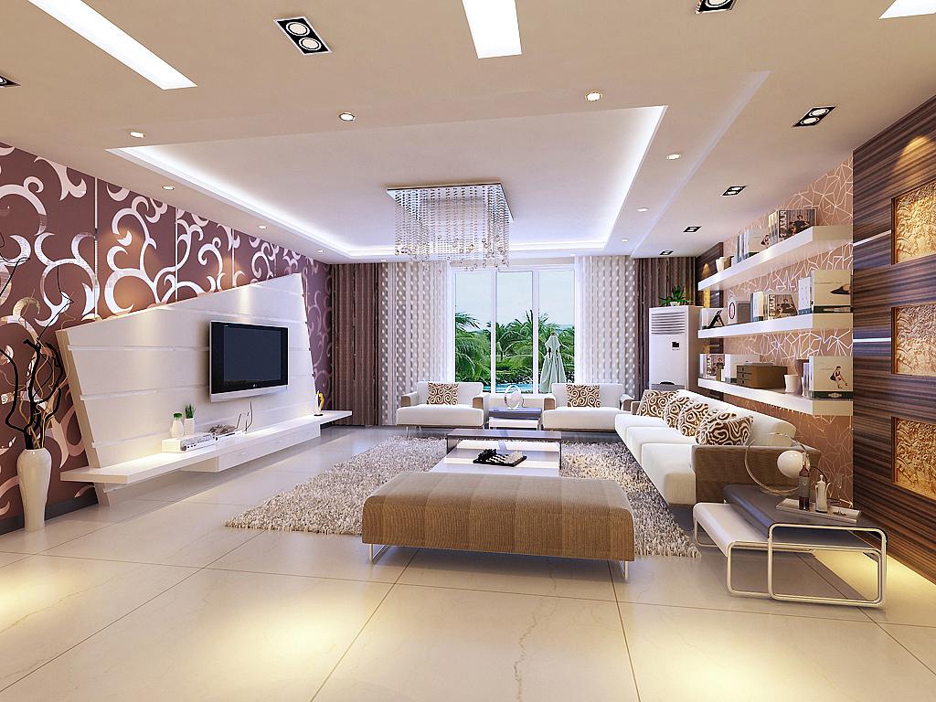 简约 客厅图片来自石家庄品界国际装饰在石家庄190平米现代旧房改造的分享