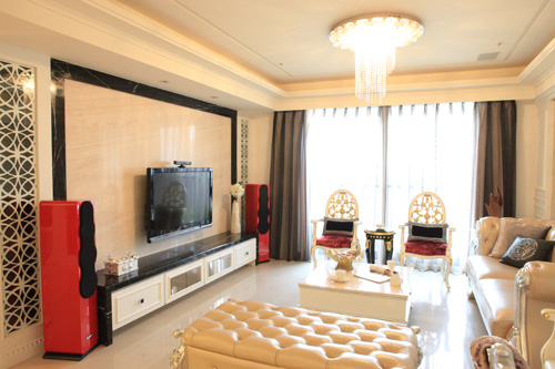 三居 客厅图片来自湾田国际赵工长在恒大华府的分享