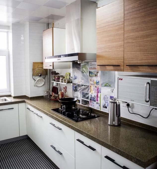 半包装修 轻工辅料 大红门 温馨简约风 婚房装修 旧房改造 厨房图片来自北京今朝装饰在温馨简约婚房---简单确是爱的分享