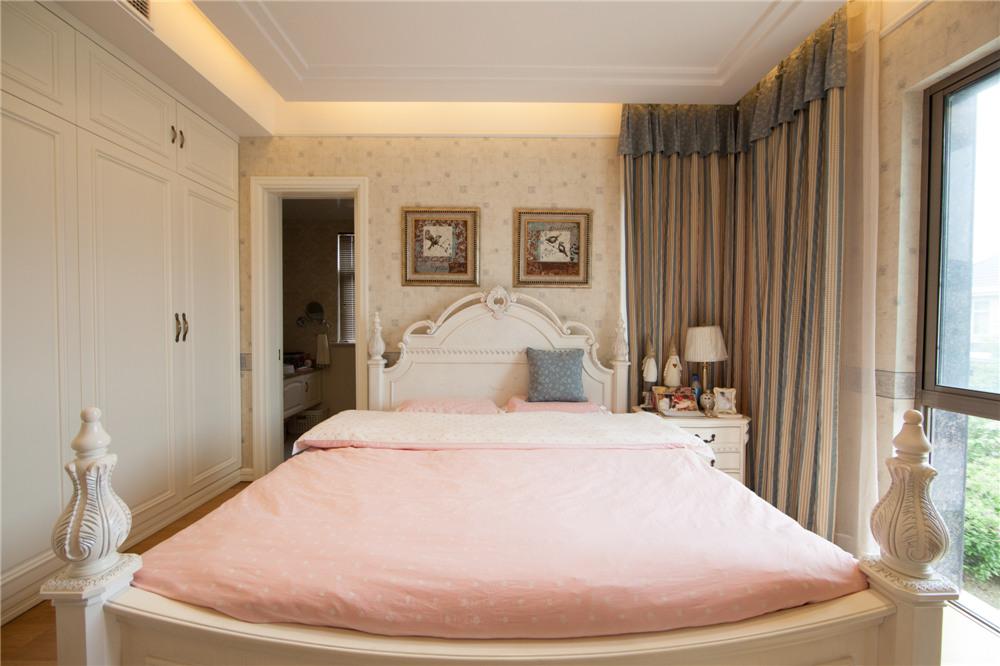 欧式 别墅 装修 奥邦装饰 陆健美 卧室图片来自上海奥邦装饰在别墅装修欧式风格实景展示!的分享
