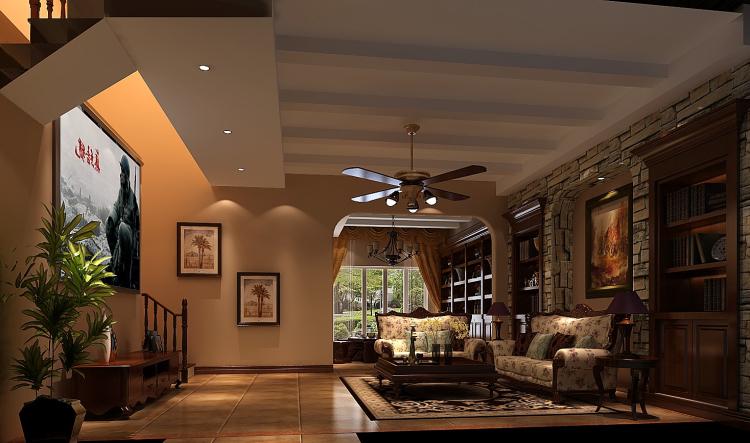 欧式 别墅 80后 白领 客厅图片来自沙漠雪雨在龙湖香醍溪岸300平欧式别墅的分享