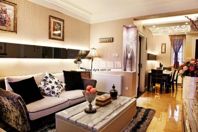 百瑞景 黄琼 东易日盛 武汉装修 雅致主义 客厅图片来自武汉东易日盛在百瑞景--黄琼的分享