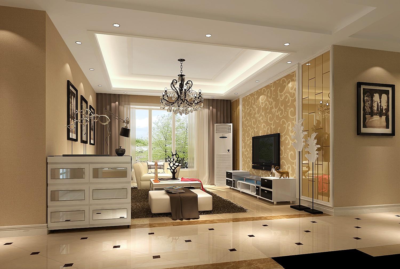 三居 现代 简约 休闲舒适 北京装修 客厅图片来自高度国际装饰韩冰在鲁能七号院118㎡现代简约效果的分享