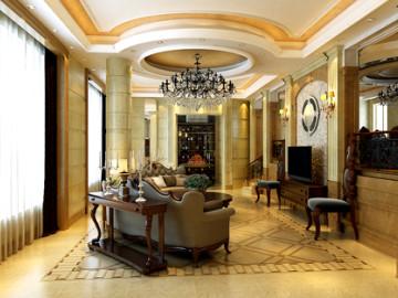 双楼别墅270平欧式奢华美家