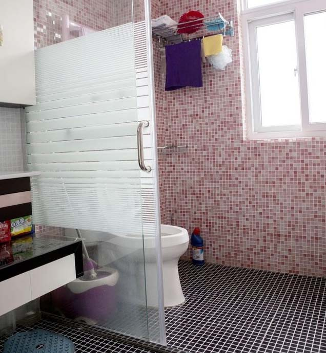 半包装修 轻工辅料 大红门 温馨简约风 婚房装修 旧房改造 卫生间图片来自北京今朝装饰在温馨简约婚房---简单确是爱的分享
