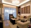 另一个视角的客厅展示效果,中式与现代的结合随处可见。
