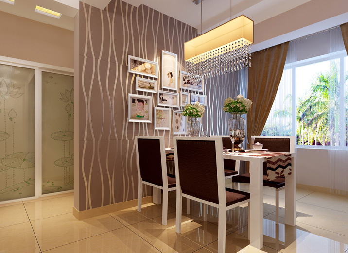 简约 三居 白领 收纳 80后 小资 餐厅图片来自shichuangyizu在中铁国际城119时尚达人的简约的分享