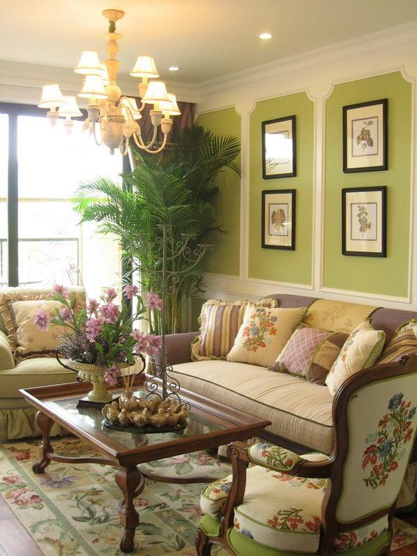 田园 别墅 收纳 天津别墅 客厅图片来自天津别墅装修公司在自然、舒适、温婉内敛的田园风格的分享