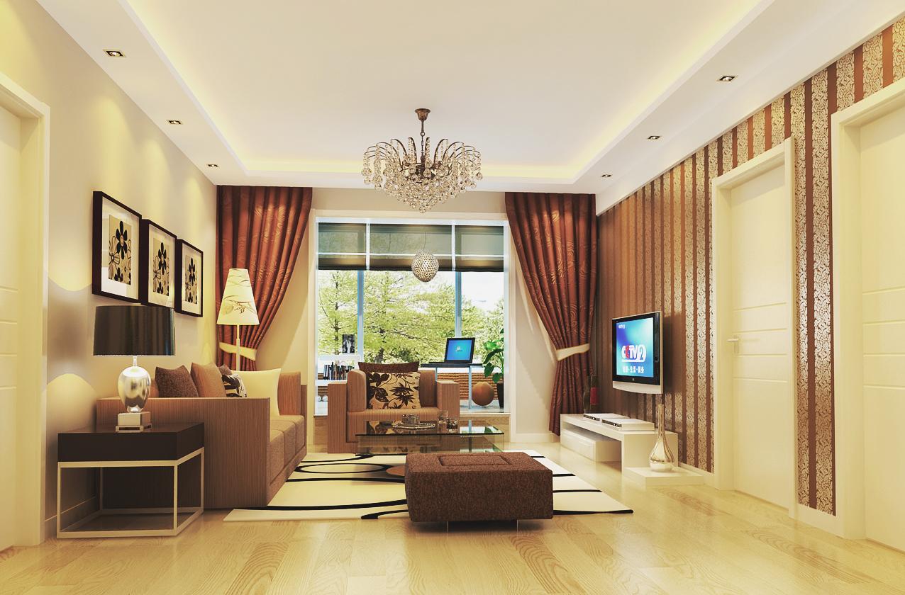 客厅图片来自xushuguang1983在11万华威西里120平米现代三居图的分享