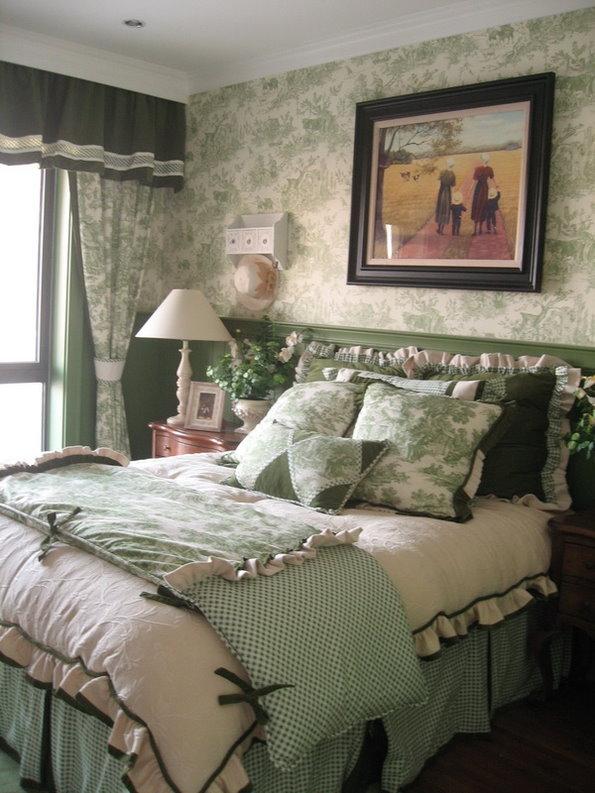 田园 别墅 收纳 天津别墅 卧室图片来自天津别墅装修公司在自然、舒适、温婉内敛的田园风格的分享