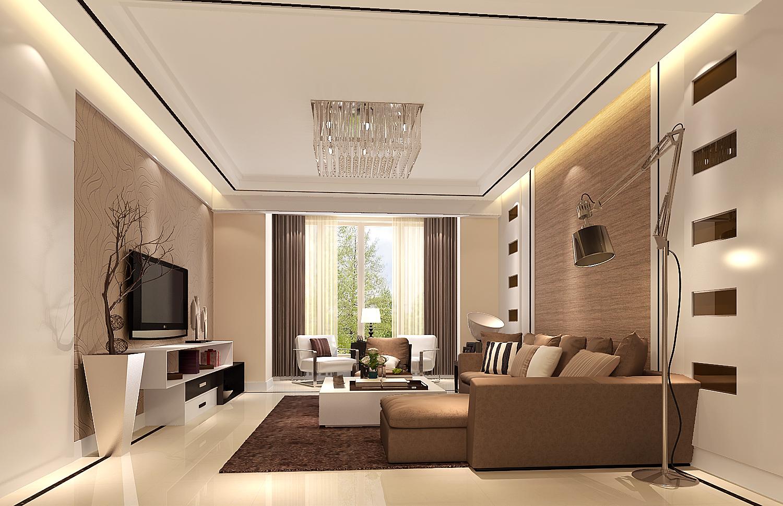 简约 二居 三居 白领 温馨 舒适 客厅图片来自高度国际装饰刘玉在金科廊桥水岸----现代简约的分享