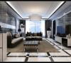 采用强烈的黑白对比,凸显现代时尚对概念化的追求。
