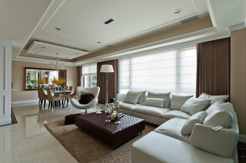 简约 客厅图片来自石家庄品界国际装饰在石家庄国仕山139平米现代简约的分享