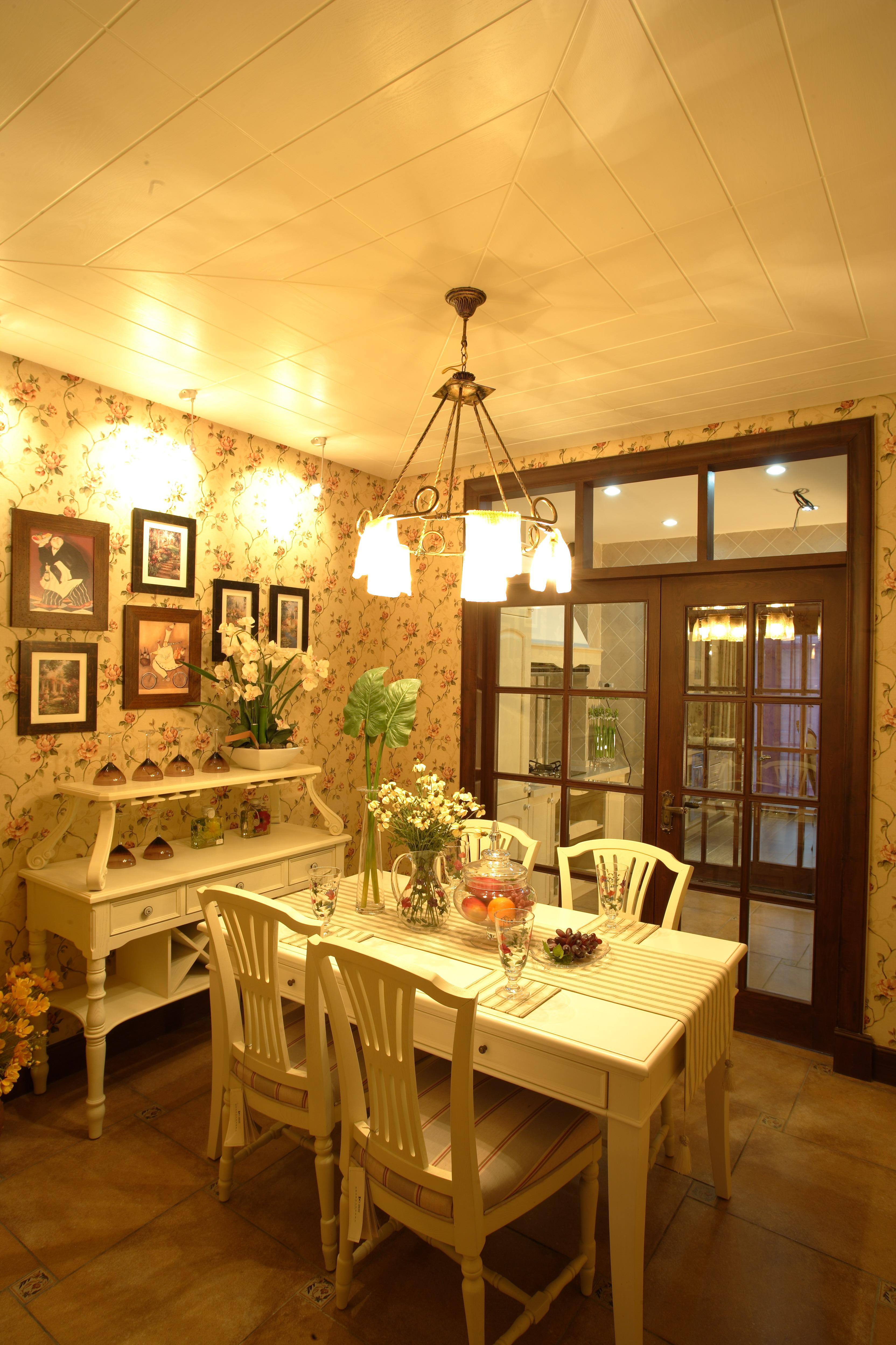 博大路 田园风格 老房改造 二居 收纳 80后 餐厅图片来自北京今朝装饰在110平米 博大路唯美田园风的分享