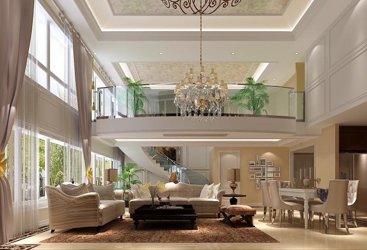 低调 奢华 别墅 80后 白领 小资 客厅图片来自沙漠雪雨在林肯公园270㎡低调奢华公寓的分享