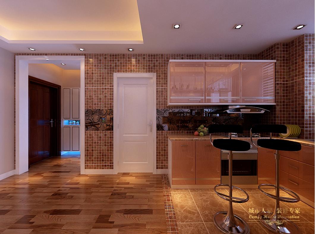 简约 城市人家 设计案例 效果图 太原装修 厨房图片来自太原城市人家装饰在绿地世纪城—78平米设计的分享