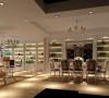 开放式厨房中,将厨房和客厅相通的部分做成一个吧台,平时可作为餐桌使用,朋友来了,调几杯鸡尾酒,颇有些异国情调,是家居空间更宽敞,更具时尚感。