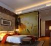 名雕丹迪设计--江南别墅--现代奢华--卧室