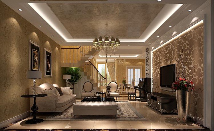 简约 欧式 顶层带阁楼 白领 80后 小资 客厅图片来自沙漠雪雨在绿醍香廊180㎡简欧公寓的分享