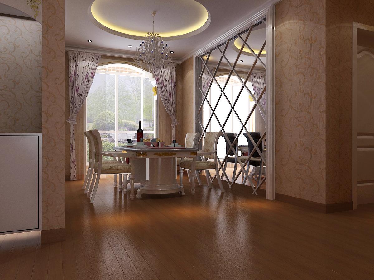 餐厅图片来自石家庄品界国际装饰在香榭260平米简欧风的分享