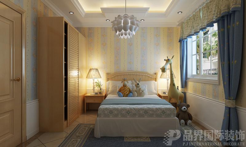 别墅 白领 卧室图片来自石家庄品界国际装饰在欧式风格的江南新城的分享